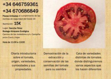 VIII Cata de tomates de Malasjierbas y Sancha Pérez