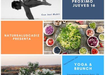 Brunch y Yoga con NaturSalud Cádiz